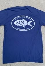 sbncfish SBNC FISH LATLONG OVAL CC TEE