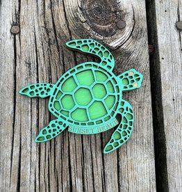 HOLY TURTLE LIME MAGNET