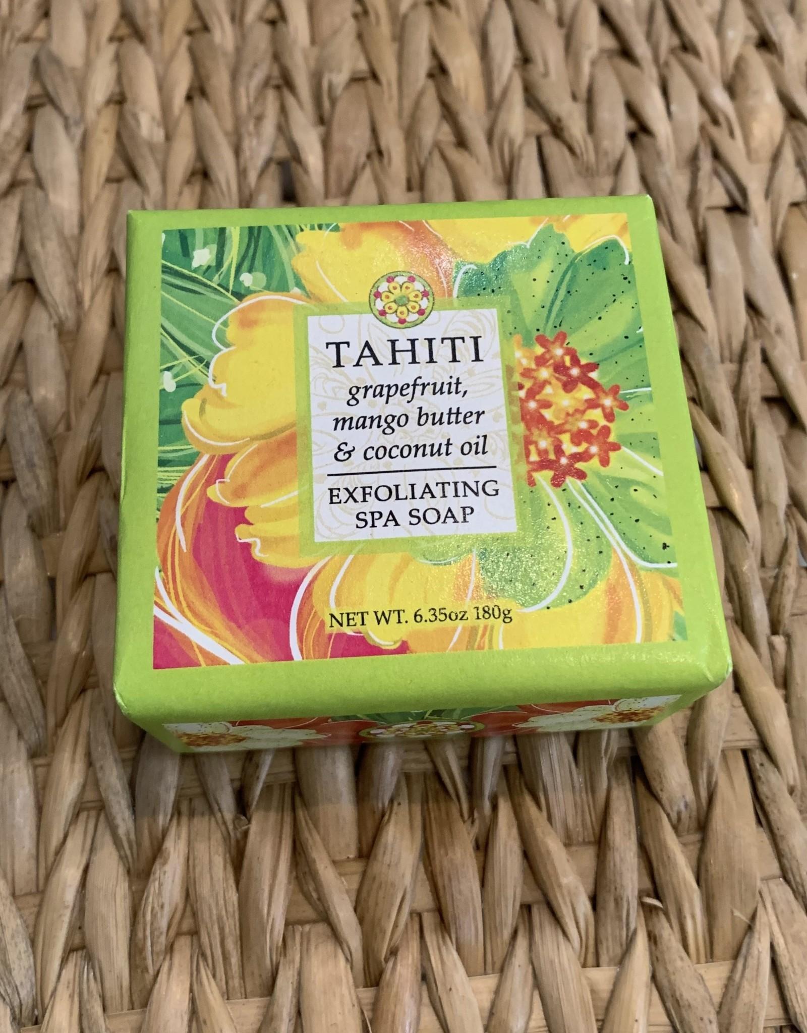 SQUARE TAHITI SOAP