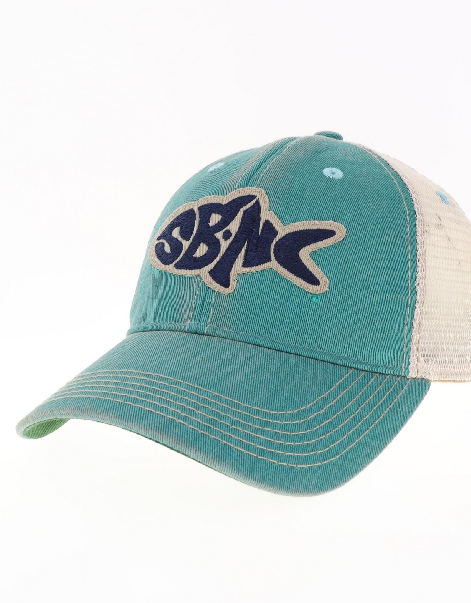 sbncfish SBNC FISH OFA TRUCKER CAP AQUA