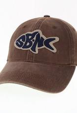 sbncfish SBNC FISH OFA FULL TWILL CAP BROWN