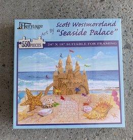 SEASIDE PALACE PUZZLE 550PCS