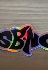 STICKER (L) SBNC FISH HOLOGRAM