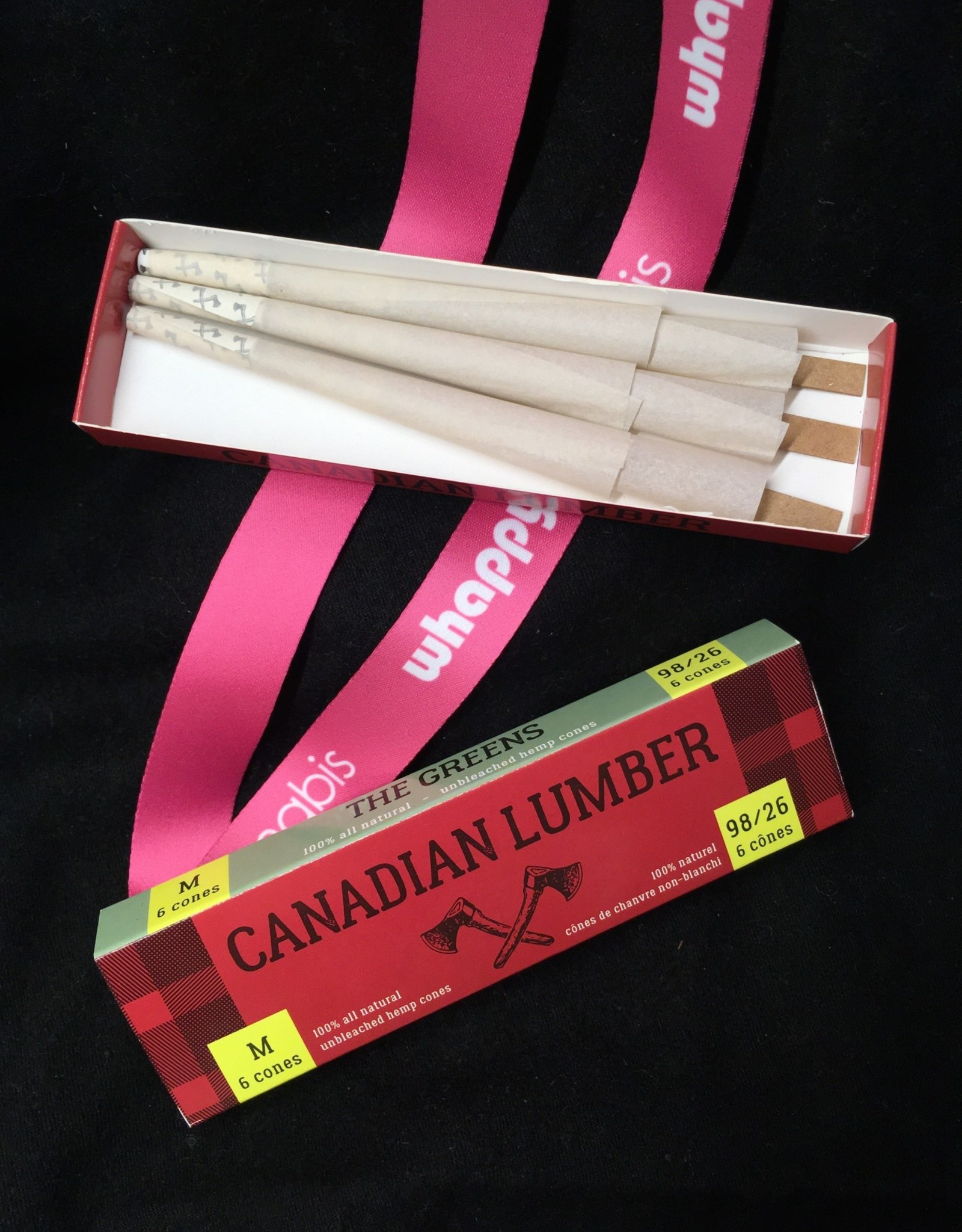 Canadian Lumber Canadian Lumber - Greens Hemp Pre-Rolled Cones (6pc)