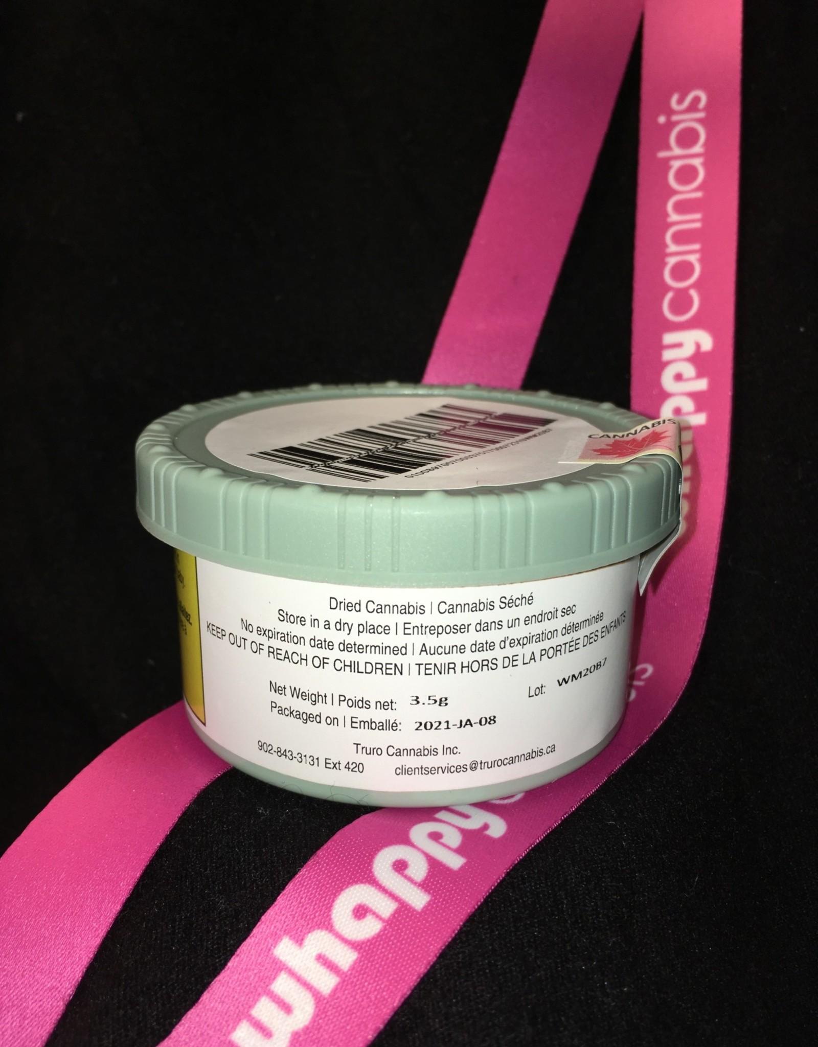 TRURO Cannabis TRURO - Wedding Mint Indica 3.5g