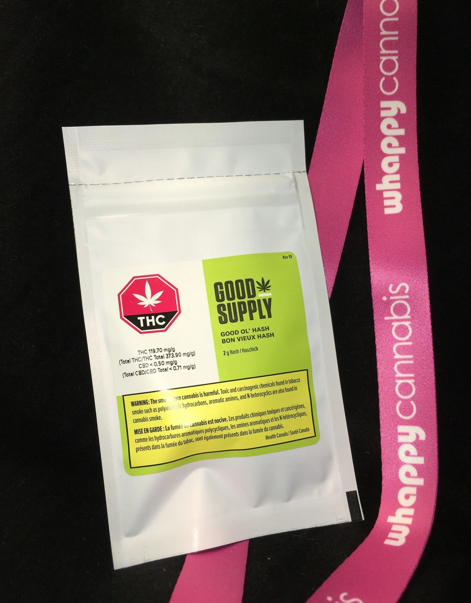 Good Supply Good Supply - Good Ol' Hash Blend 2g