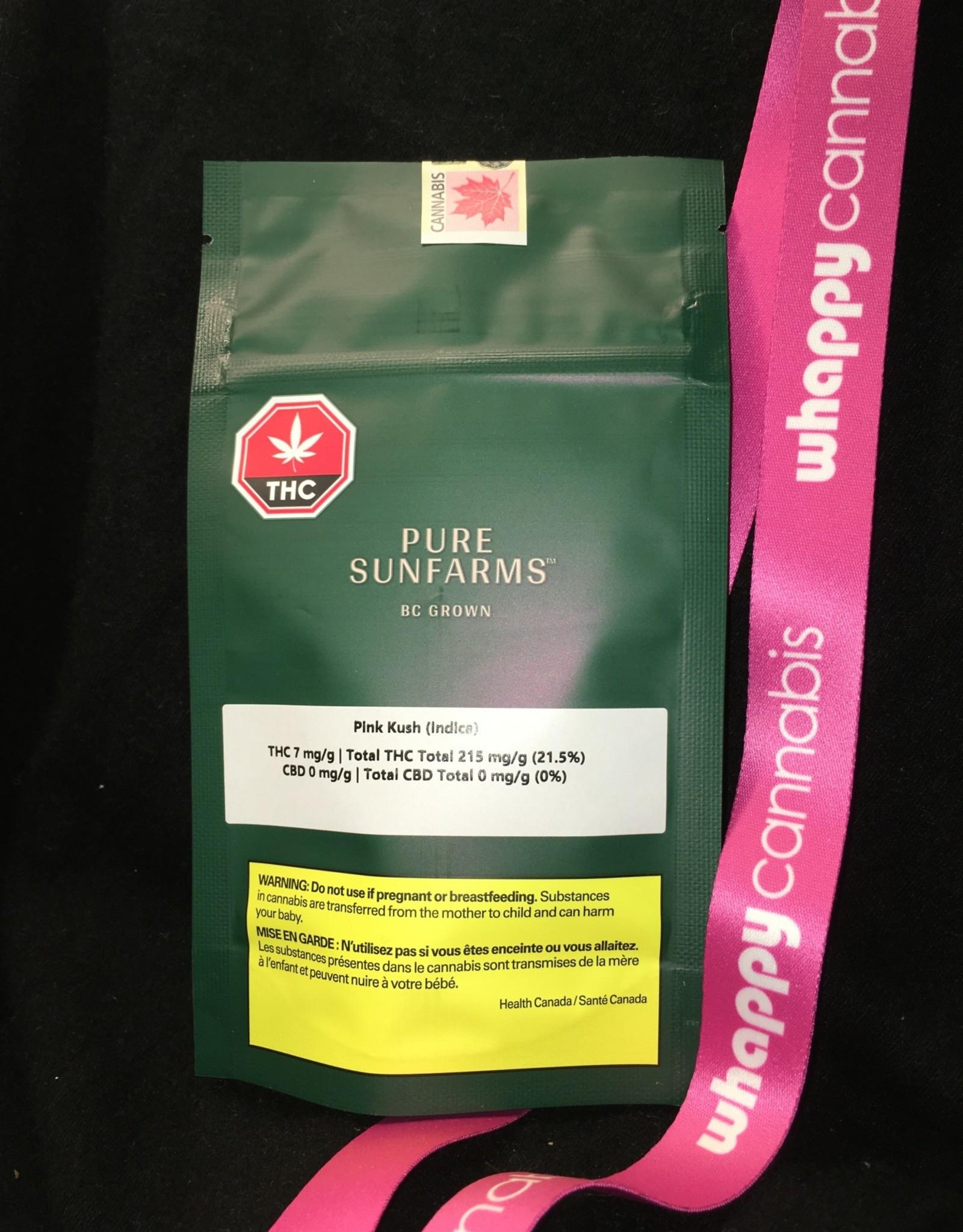 Pure Sunfarms Pure Sunfarms - Pink Kush Indica 3.5g