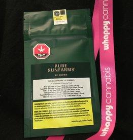 Pure Sunfarms Pure Sunfarms - Sour Raspberry 1 to 1 Soft Chews Blend (4pc)
