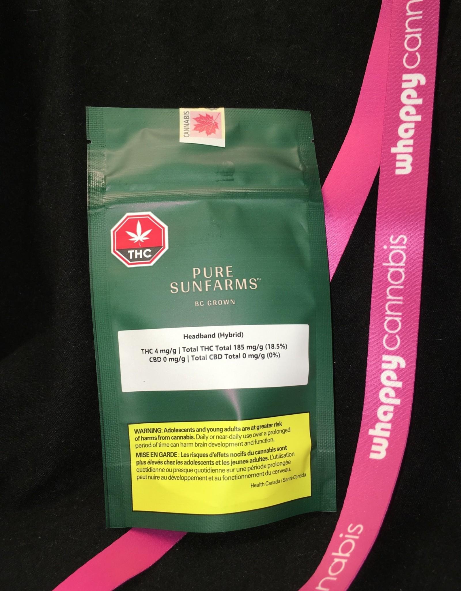 Pure Sunfarms Pure Sunfarms - Headband Hybrid 3.5g