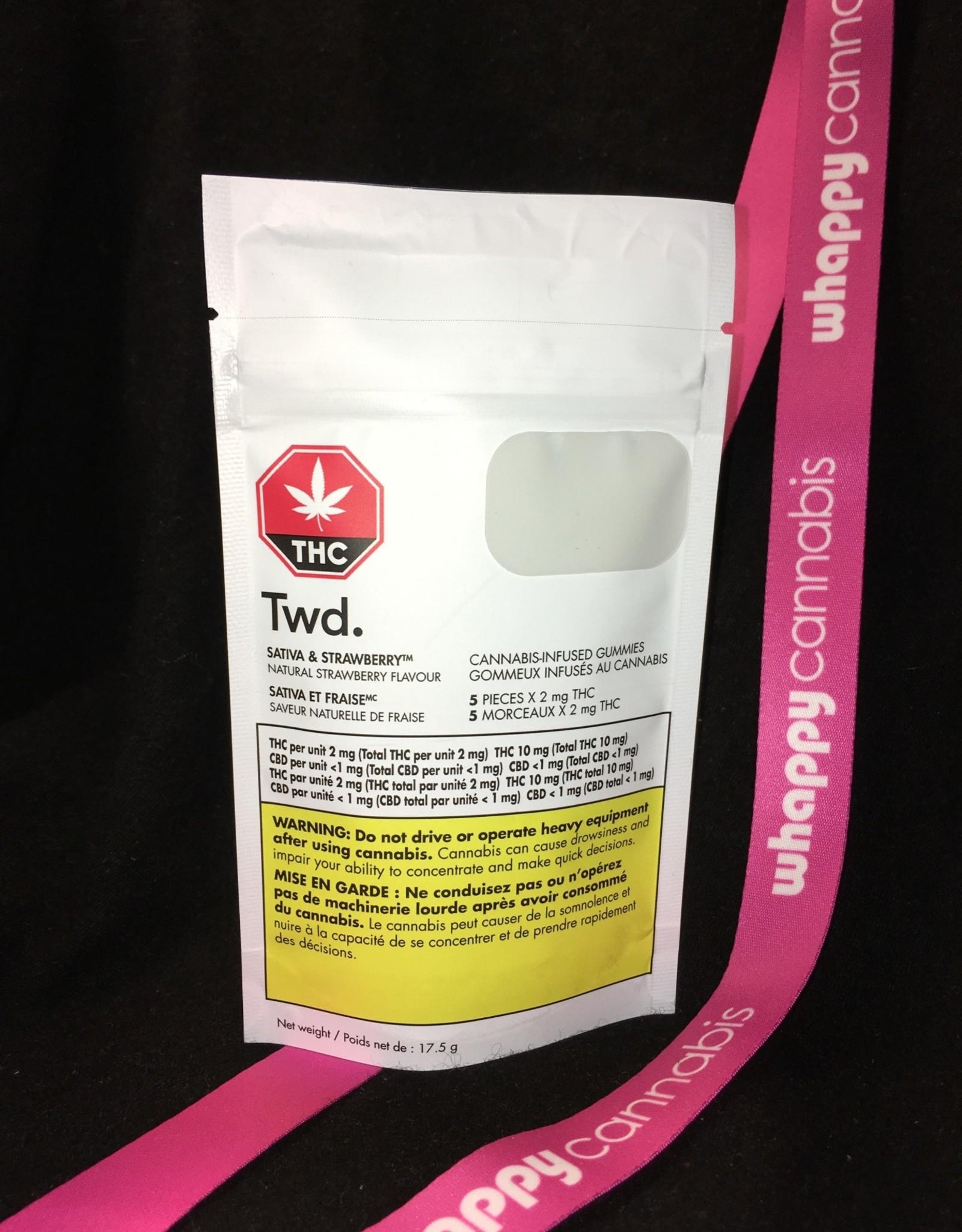 Twd. Twd. - THC Sativa & Strawberry Soft Chew 17.5g (5pc)