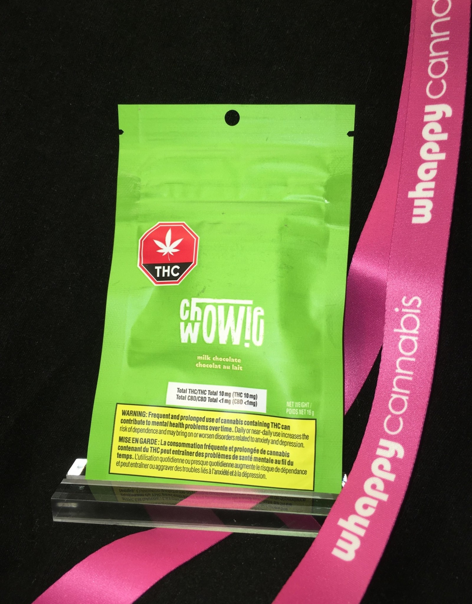 Chowie Wowie Chowie Wowie - THC Solid Milk Chocolate Blend 16g