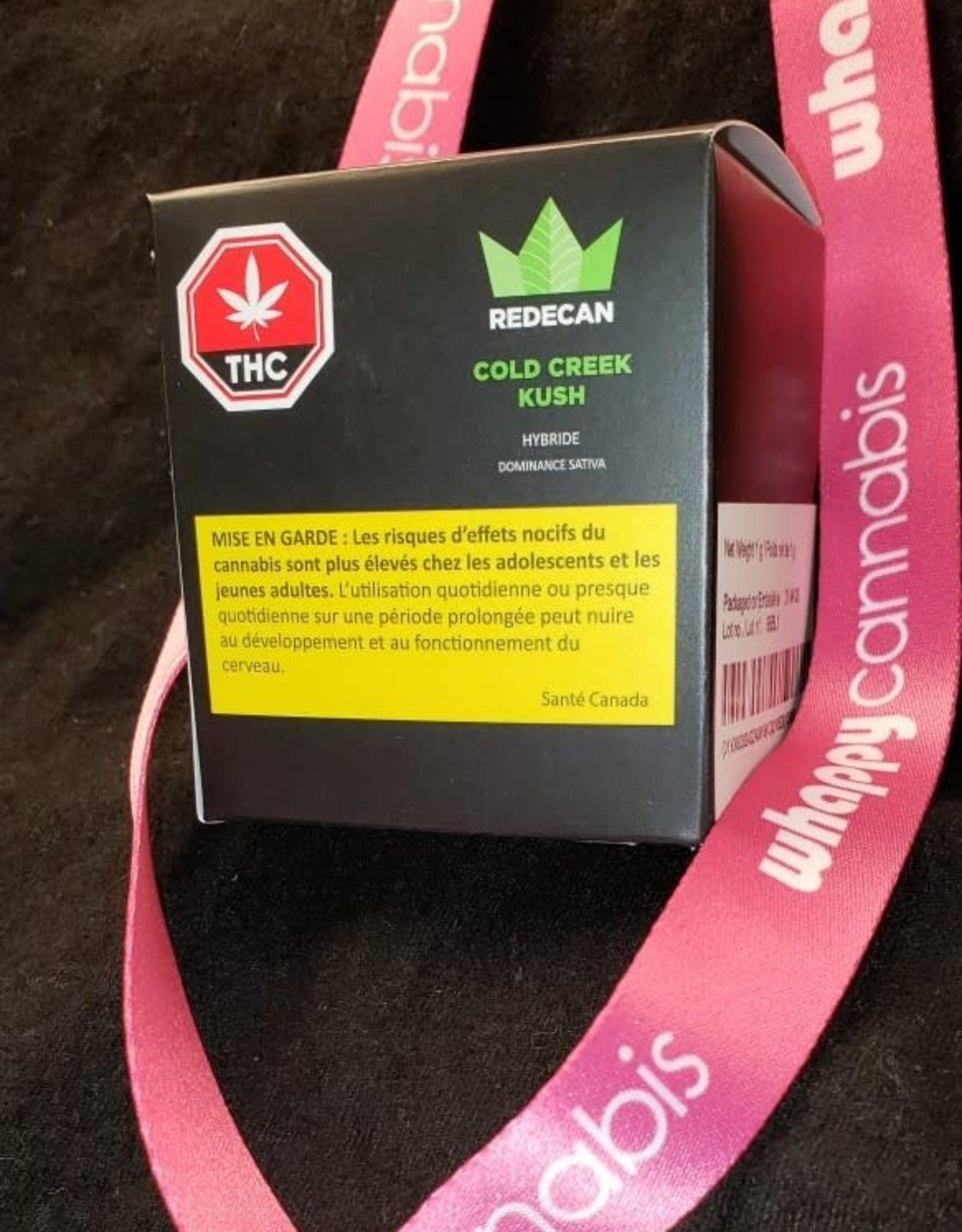Redecan Redecan - Cold Creek Kush Hybrid, Sativa Dom. 1g