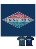 St. John Beach Bum Hallena Sun Waves Tri-Blend Tee