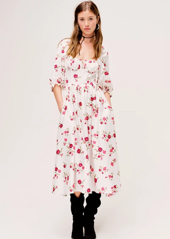 For Love & Lemons Rosie Maxi Dress