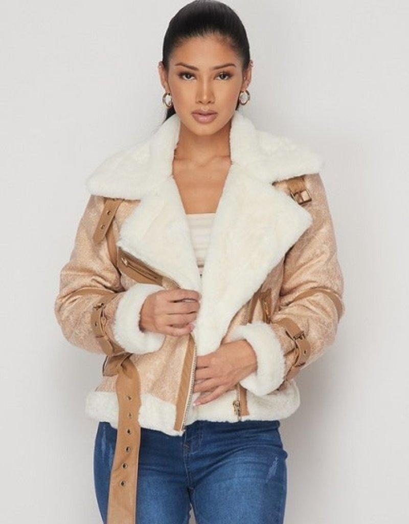 Ivory Sheep The Voyager Moto Jacket