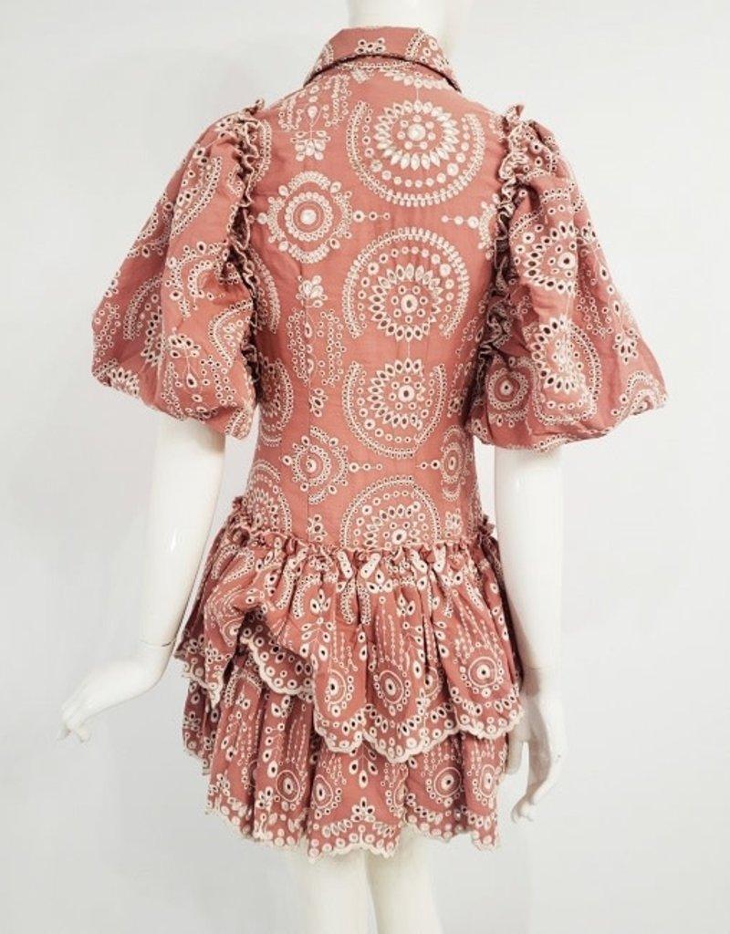 Ivory Sheep Count Sassy Mini Dress