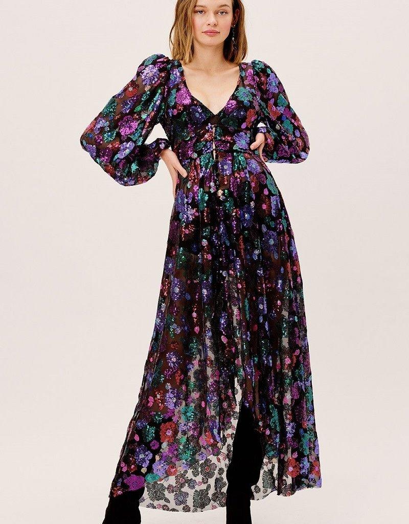 For Love & Lemons Ariana Maxi Dress