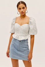 For Love & Lemons Lydia Crop Top