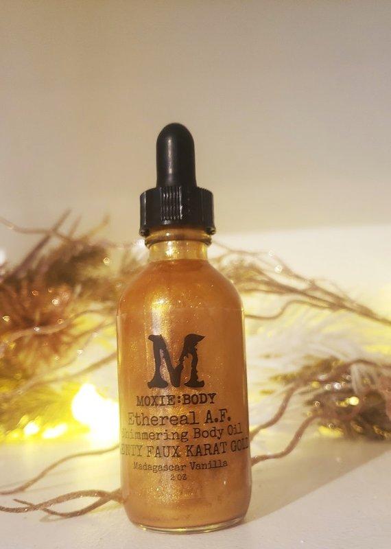 Moxie Body Shimmering Body Oil