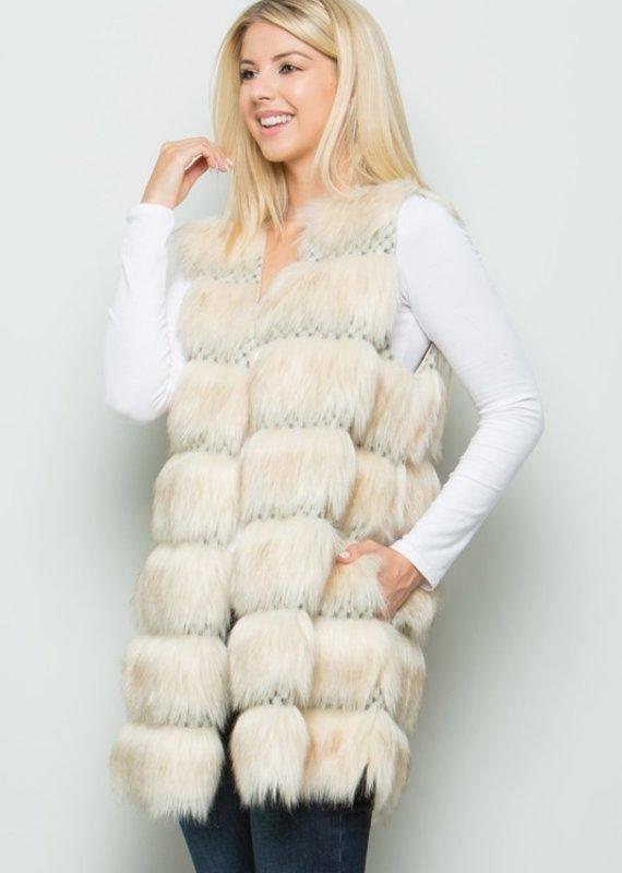 Ivory Sheep The Viking Vest