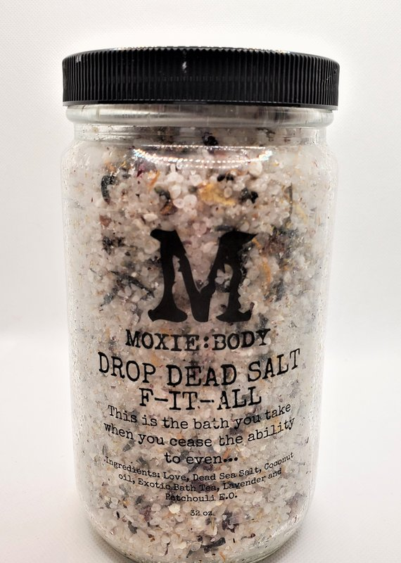 Moxie Body Drop Dead Salts - F-IT-ALL