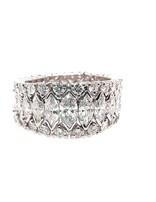 Round & marquise diamond (5.00 ctw) eternity ring, platnium