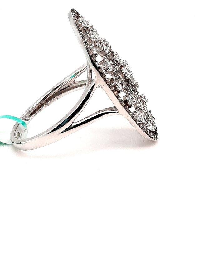 Diamond (1.04 ctw) Ring 14kt White Gold
