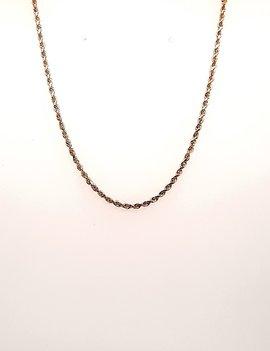 Diamond Cut Rope Chain 14kt 6.1g
