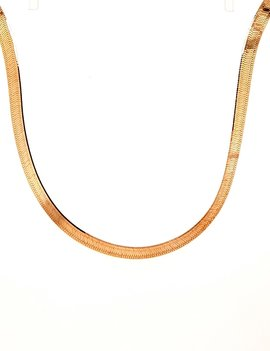 H Bone Necklace 14kt Yellow Gold 9.9g
