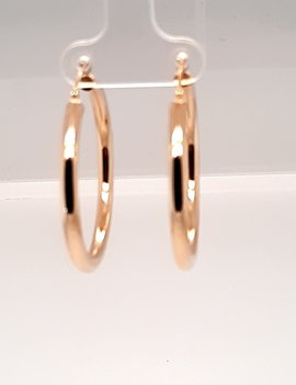 Large Hoops Yellow Gold 2.5g