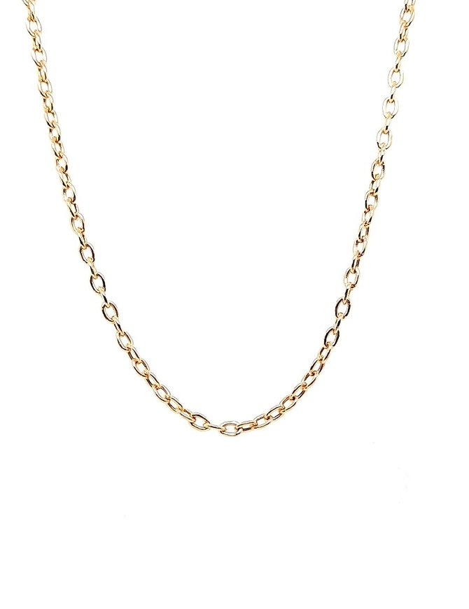 Necklace 14 kt Yellow Gold 2.9g
