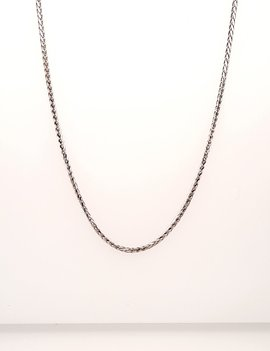 Necklace 14 kt White Gold 3.8g
