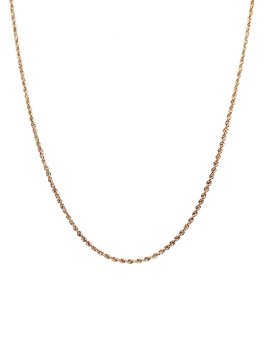 Rope Necklace 14 kt Yellow Gold 2.5g