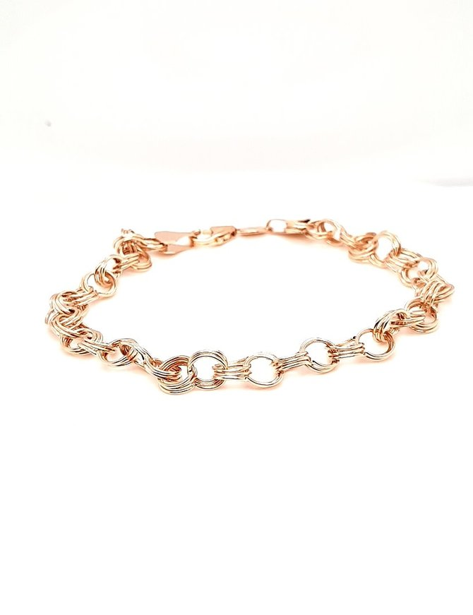 Bracelet 14kt Yellow Gold 4.3g