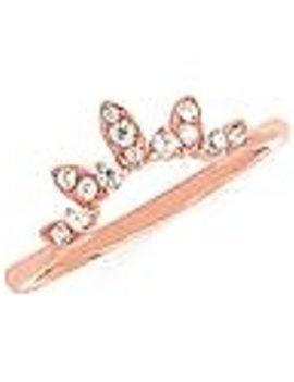 Diamond (0.14 ctw) band, 14k rose gold