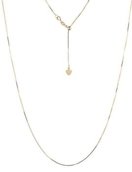"""Sterling silver with yellow gold rhodium adjustable chain, 18"""""""