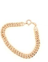 18k yellow gold fancy link bracelet