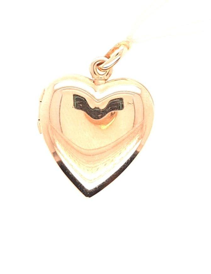 Locket Heart 14kt Yellow Gold 4.3g