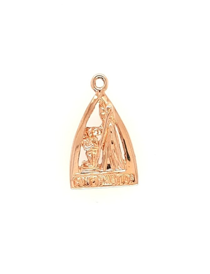 Confirmation Medal 14kt Yellow Gold 1.7g