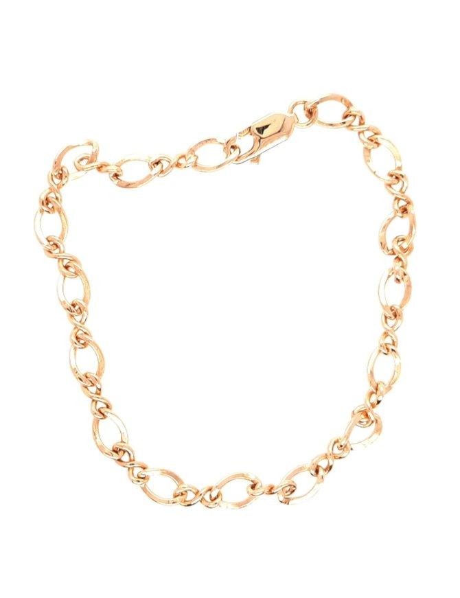 Bracelet Yellow Gold Figaro Link 6g
