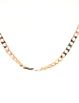 Square Necklace 14k Yellow Gold 9.3g