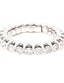 Diamond (3.2ctw) self adjusting eternity band platinum