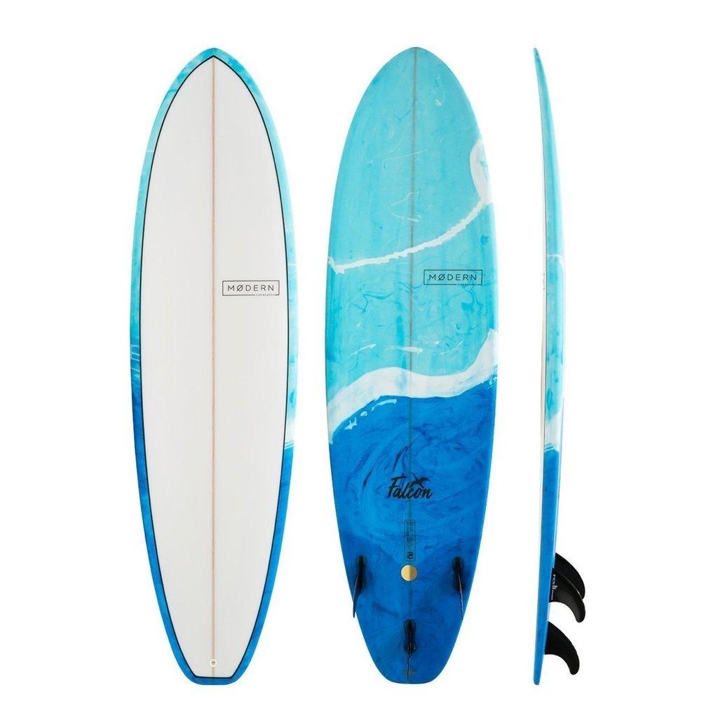"Modern 7'0"" Modern Falcon Blue Swirl Tint"