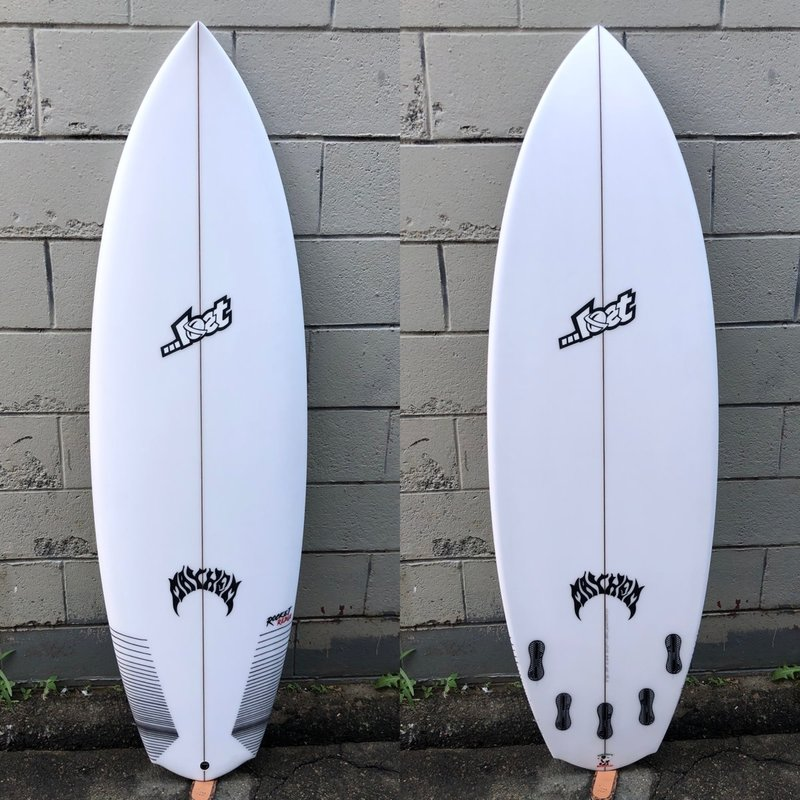 """...Lost Surfboards 5'8"""" Lost Rocket Redux Wide"""