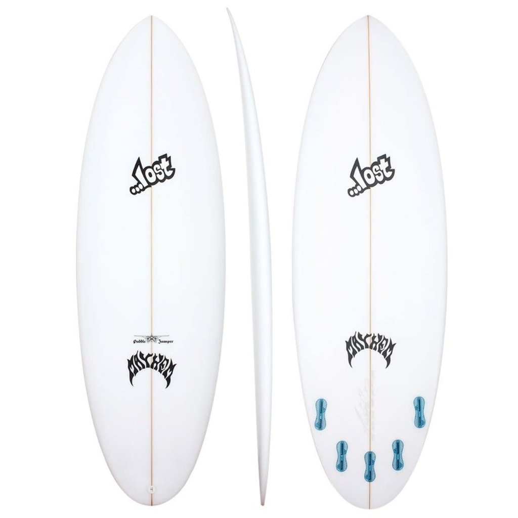 """...Lost Surfboards 6'4"""" Lost Puddle Jumper Round Pin"""