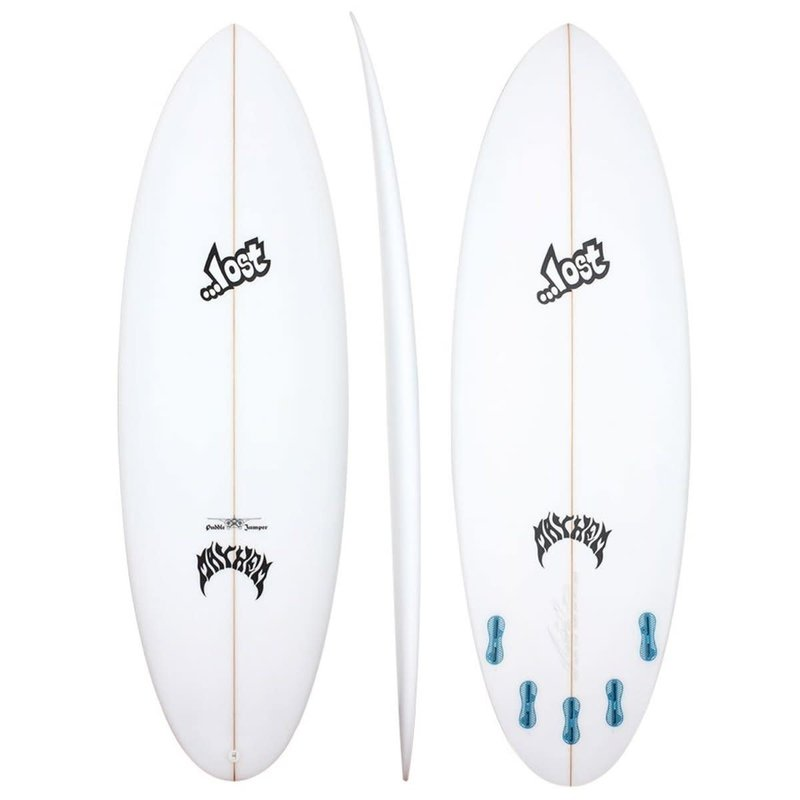 "...Lost Surfboards 6'4"" Lost Puddle Jumper Round Pin"