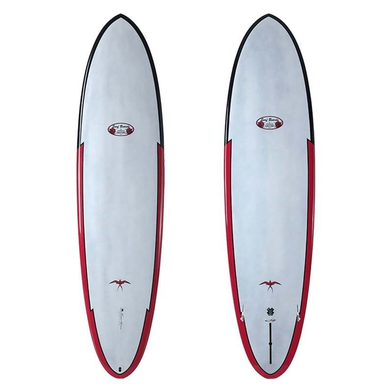 "SurfTech 7'2"" Takayama Egg Red Tuflite PC"