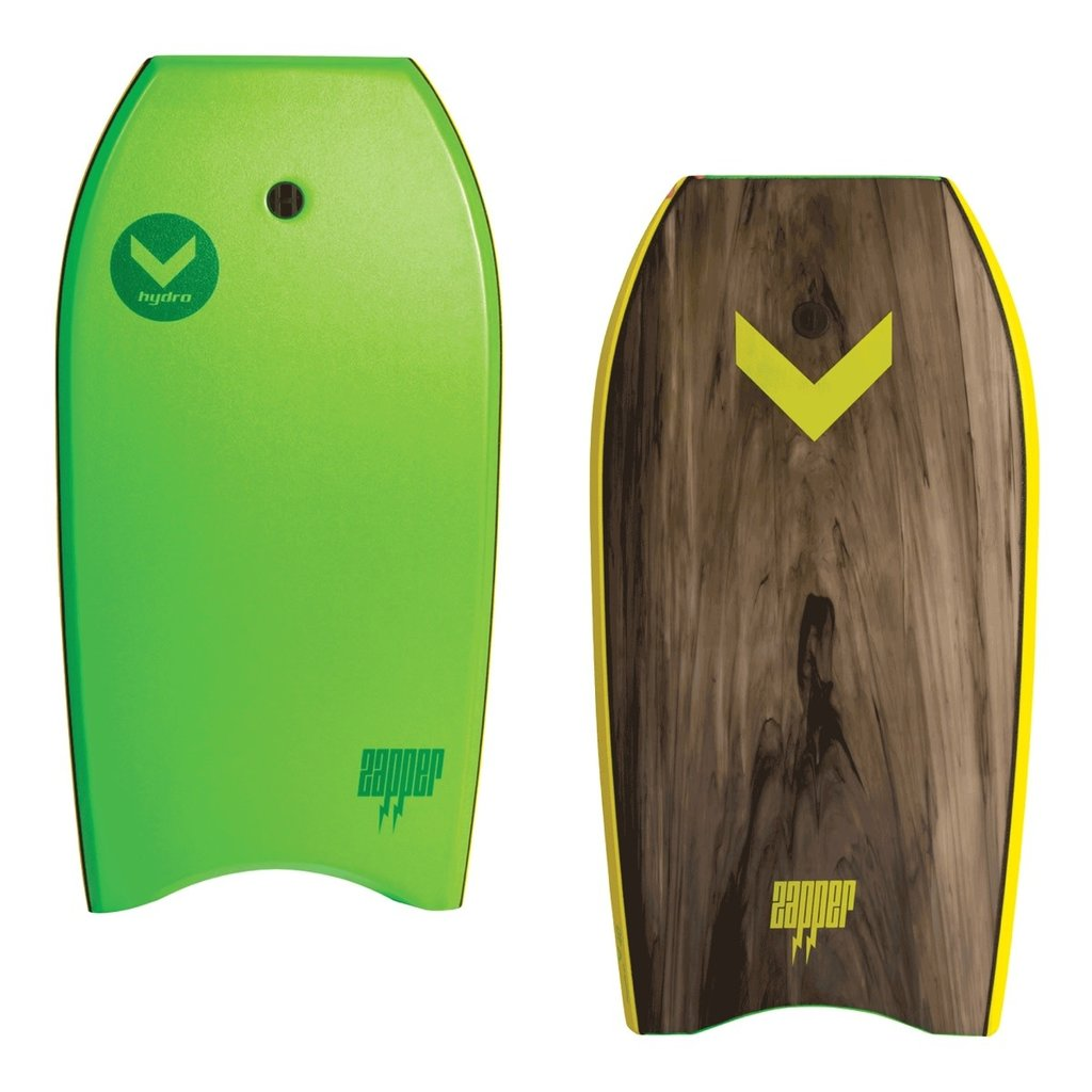 "Hydro Bodyboards Hydro Zapper 45"" Bodyboard Green"