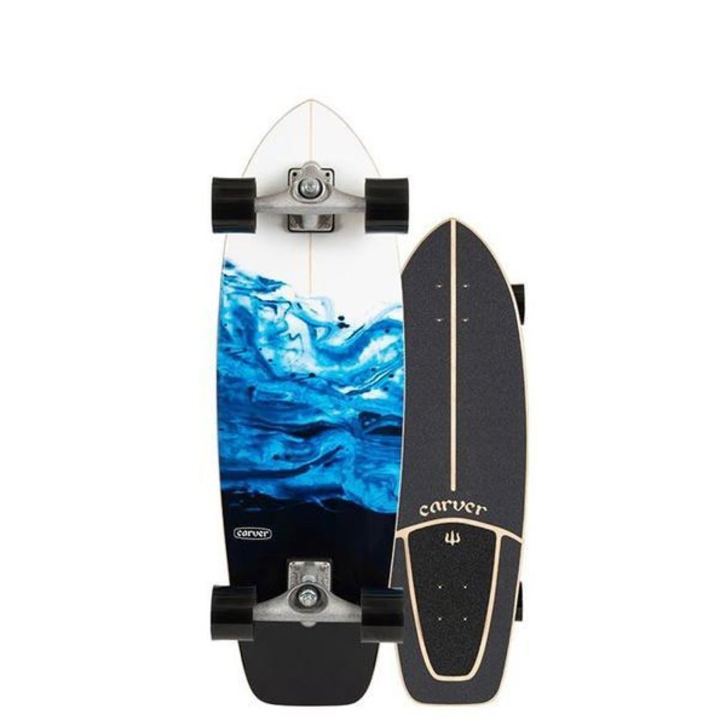 "Carver Carver 31"" Resin Surfskate CX Raw Complete"