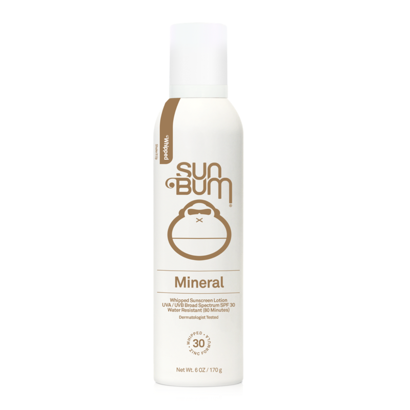 Sun Bum Sun Bum SPF 30 Mineral Whipped Sunscreen Lotion